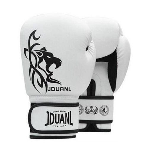 Boxing Gloves Adult Fighting/ Training gloves Muay Thai-White