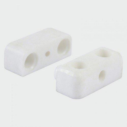 TIMco KDWHITEP Knock Down Block White 35 x 25 x 12mm Bag of 4