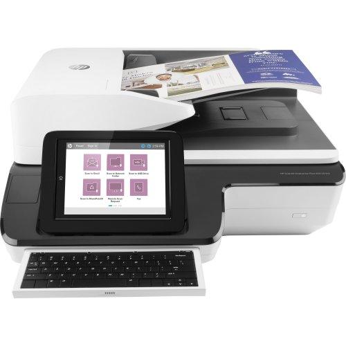 HP Scanjet Enterprise Flow N9120 fn2 Flatbed & ADF scanner 600 x 600DPI A3 Black, White