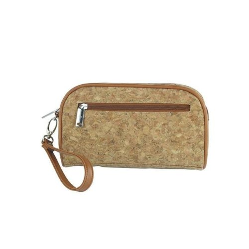 Picnic Gift 7620-CR Margarita-Insulated Cosmetics Bags with Removable Wristlet, Cork