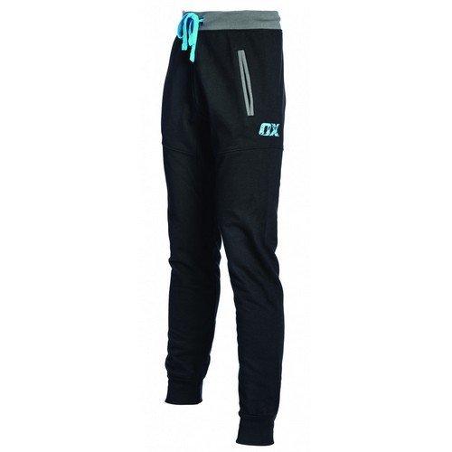 """OX W550801 Jogger Pants Black 28"""" Waist"""