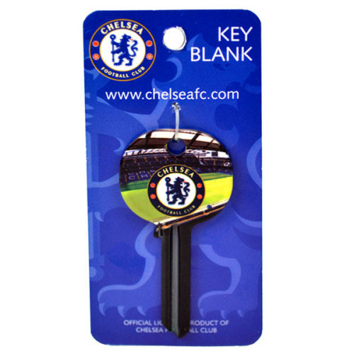 Chelsea Fc (crest) Key Blank (door Key){official Product} - Official Licensed -  official licensed football chelsea door key blank gift product crest
