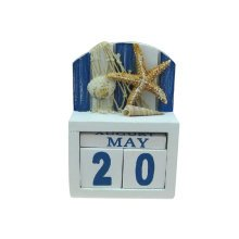 Wooden Permanent Calendar Creative Calendar Decoration For Home / Office -A2