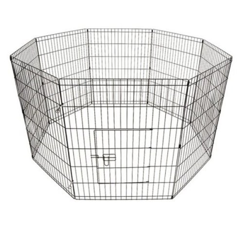Puppy Play Pen Pet Enclosure - Black