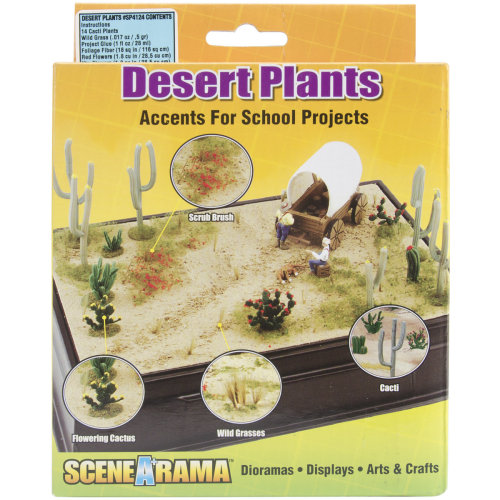 Diorama Kit-Desert Plants