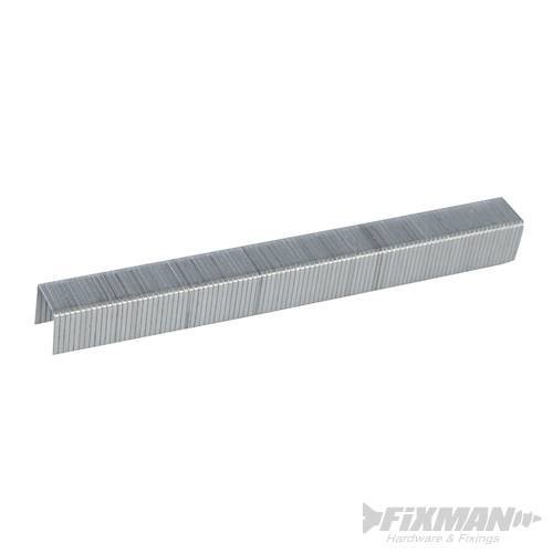 Fixman 10j Galvanised Staples 5000pk 11.2 x 10 x 1.16mm