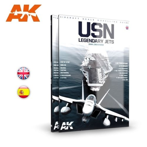 AKBOOK278 - AK Interactive Book - USN Legend Reactors