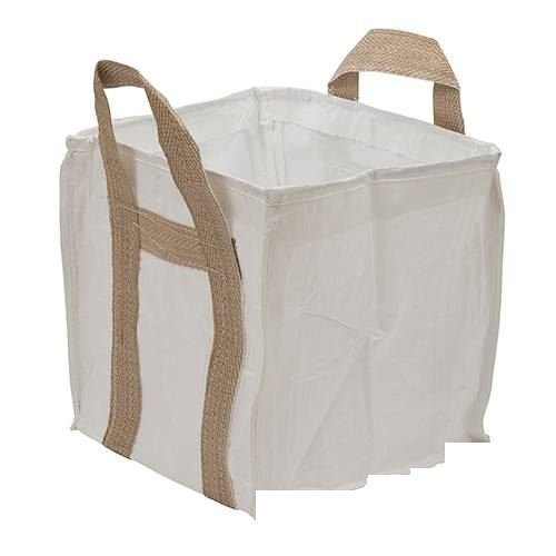 Silverline Mini Bulk Bag 450 x 450 x 450mm - Garden 497227 Builders Logs Woven -  450 x bulk bag mini garden 450mm silverline 497227 builders logs