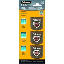 Fellowes SafeCut Replacement Blades - 3 Pack