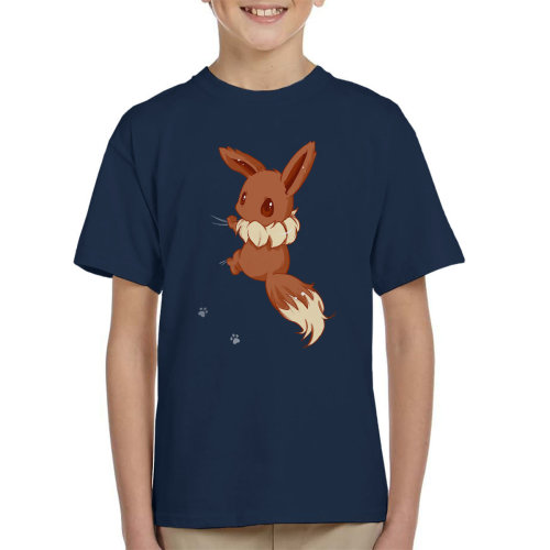 Cute Eevee Pokemon Kid's T-Shirt