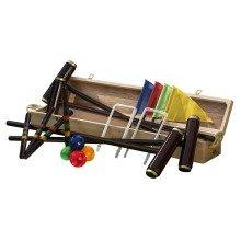 Traditional Garden Games Royal York Boxed Deluxe Croquet Set
