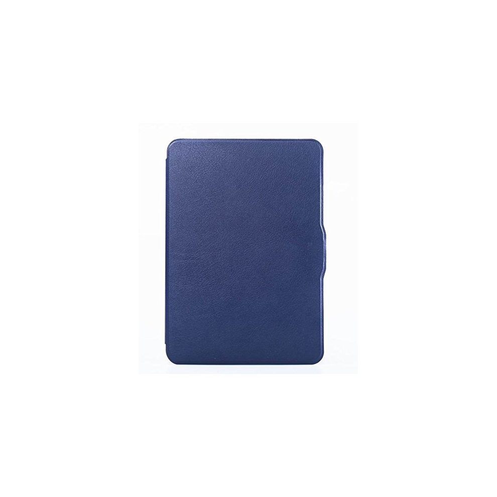 Revesun Navy Blue Leather Case Ultra Slim Cover for All-New Kindle  Paperwhite 2015 300 PPI 3rd gen / 2014 / 2013 / 2012 with Magnetic Auto  Sleep