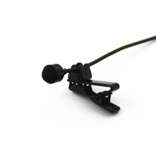 "Pro JK® MIC-J 044 Lavalier Lapel External Microphone Designed For ZOOM TASCAM Recording Devices - 1/8"" TRS Plug"
