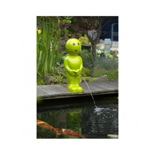 Ubbink Pond Spitter Boy VIII Small Green 45.5 cm Water Feature Statue 1386127