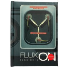 Back To The Future Illuminating Flux Capacitor Notebook
