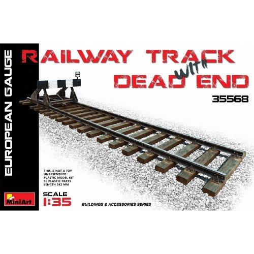 Min35568 - Miniart 1:35 - Railway Track & Dead End European Gauge