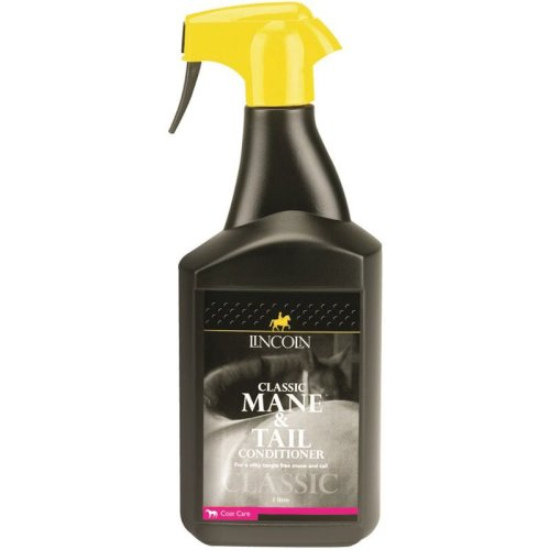 Lincoln Classic Horse Grooming Mane & Tail Conditioner Spray, 1 Litre