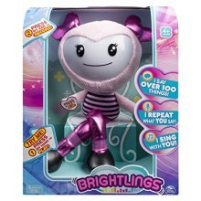 "Brightlings Interactive Singing, Talking 15"" Plush"