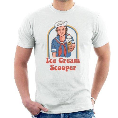 Ice Cream Scooper Steve Harrington Stranger Things Men's T-Shirt