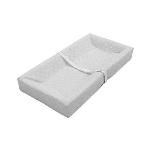 L A Baby  Combo Pack with 30 in. 4 Sided Changing Pad and White Terry Cover