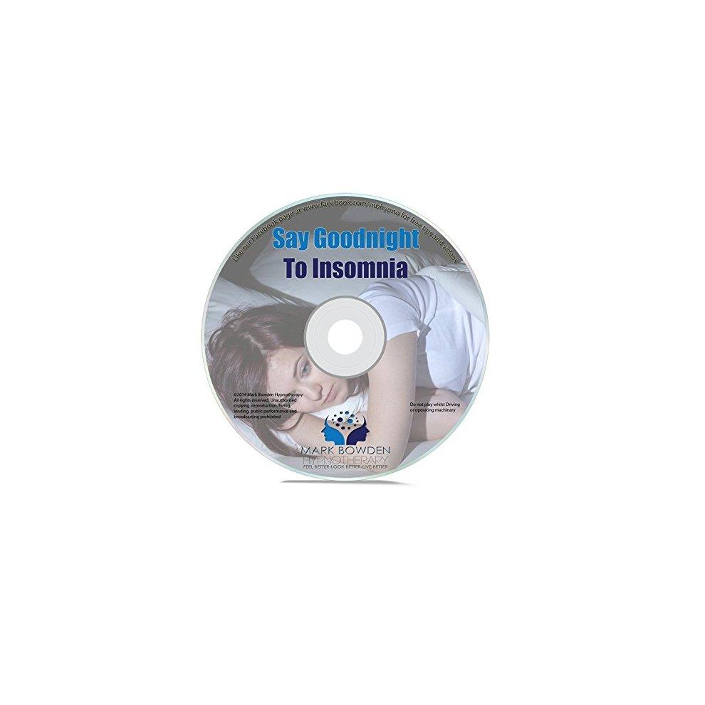 Say Goodnight to Insomnia Self Hypnosis CD - Hypnotherapy Sleep Meditation  CD