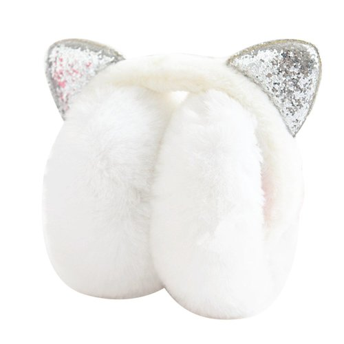 Lovely Earmuffs Plush Earmuff Warm Earmuffs Ear Protection For Kids [H]