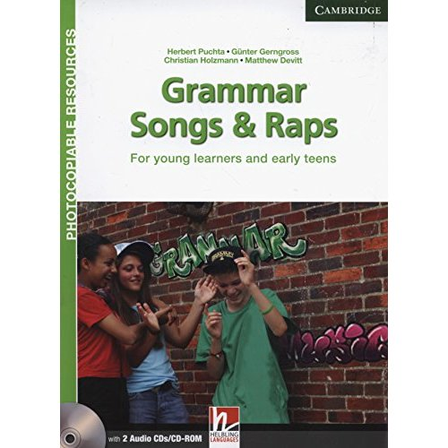Grammar Songs and Raps Teacher's Book with Audio CDs (2): For Young Learners and Early Teens (Helbling Photocopiable Resources)