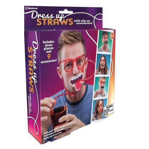 Dress Up Straws