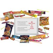 SATs Results Congratulations Sweet Box - A perfect way to say well done