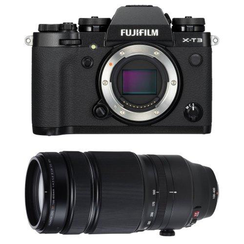 FUJI X-T3 Black + XF 100-400MM F4.5-5.6R LM OIS WR Black