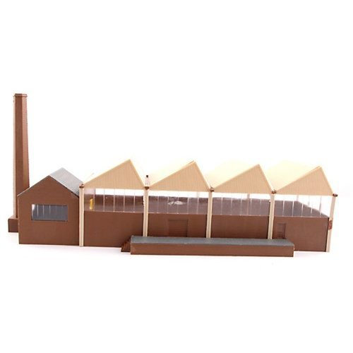 Old Factory with Chimney - Kestrel Design GMKD1001 N building kit - free post P3