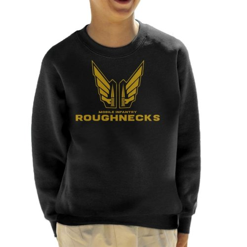 Starship Troopers Mobile Infantry Roughnecks Logo Kid's Sweatshirt