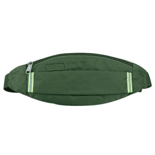 Outdoor Sports And Leisure Large Capacity Fashion Waist Bags, Army Green