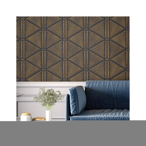 Ndola Furniture Floor Wall Stencil for Painting