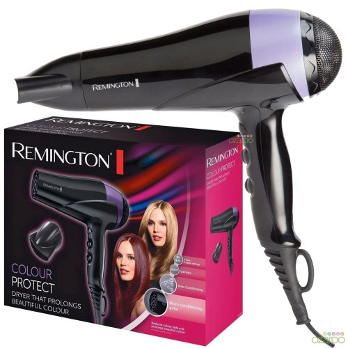 Remington Womens Professional Ionic Conditioning Colour Protect Hair Dryer D6090
