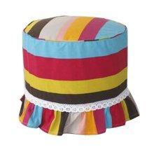 Makeup Stool Cover Stool Cushion Stripe