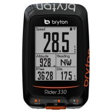 Bryton Rider 330T GPS and Heart Rate Monitor-Black