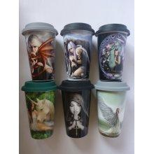 Anne Stokes Ceramic Travel Mug