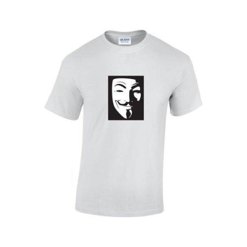 e9b3dfcd8 Vintage Movie V For Vendetta Mask T-Shirt on OnBuy