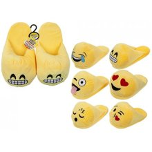 Adults Unisex Emoji Mules Slippers - Size Uk Eu Kids Childrens -  emoji slippers unisex size uk eu kids childrens