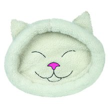 Trixie Mijou Cuddly Bed, 48 x 37 Cm, Cream - 28632 Place Catscm -  trixie 28632 cuddly place cats mijou 48 37 cm