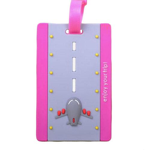 Creative Cartoon Luggage Tag Name Tag/ID Holder Travel Accessories-A11