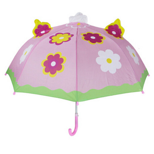 Childrens  Rainy Day Umbrella/?0-7years)Bright colors Kids Umbrella, fllower