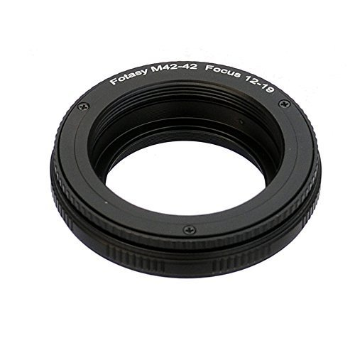 Fotasy 42mm to 42mm lens Focusing Helicoid Adapter 12mm 19mm