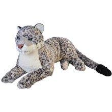 "Wild Republic 19551 76cm ""ck Jumbo Snow Leopard"" Plush Toy - Leopard Soft -  wild republic jumbo snow leopard toy plush soft cuddlekins 30 cuddly"