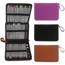 72 Slots 3 Layer Color Pencil Pen Case Box Storage Holder Bag Art Supplies Pouch Storage Container