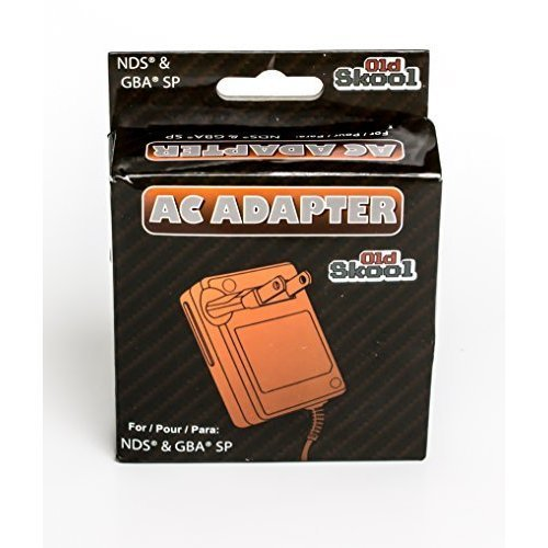 Old Skool AC Adapter for Nintendo DS and Game Boy Advance SP