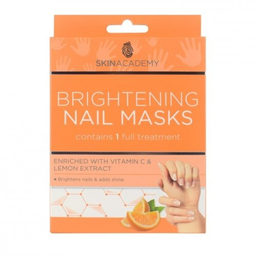 Skin Academy Brightening Nail Masks with Vitamin C & Lemon