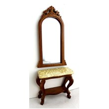 Dollhouse Miniature The Lincoln Mirror and Hall Stand