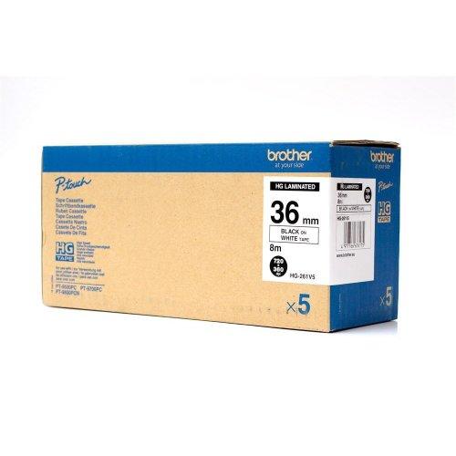 Brother HG261V5 HG printer label